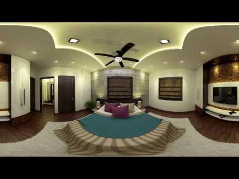 VR 360 Degree Bedroom Interior Designs 2017 Virtual Reality 360