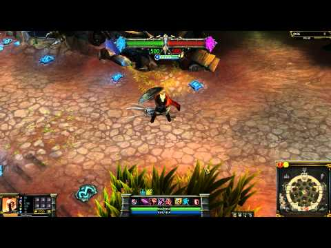 Glaive Warrior Pantheon League of Legends Skin Spotlight