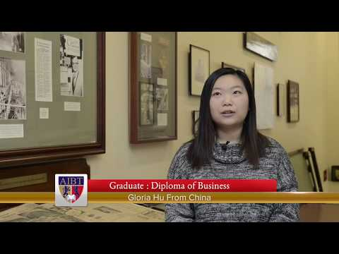 Adelaide Institute of Business and Technology (AIBT): Gloria from China (Chinese version)