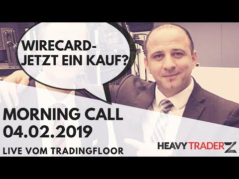 Morning Call 04.02.2019: Wirecard - Amazon - Aktien Gewinner und Verlierer