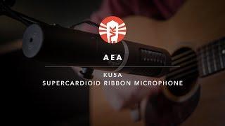 AEA KU5A | Supercardioid Ribbon Microphone | Vintage King