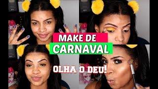 Make AMARELA  PODEROSA pro Carnaval 🔥 Bloquinhos