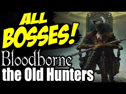 how to start the old hunters dlc bloodborne