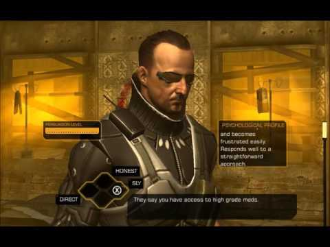 Ryu Plays Deus Ex: The Fall Part 4 - Let's Visit The Doctor |