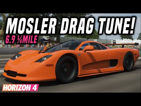 Fh4 Fastest Mosler Mt900s Drag Tune 6 974 Second 1 4mile Youtube