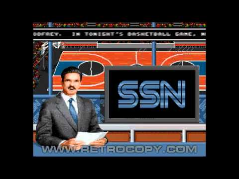 David Robinson Basketball (Sega Genesis / Mega Drive) Intro