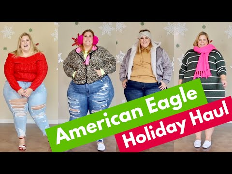 AE Hauliday Haul: Comfortable Holiday Looks For However You Celebrate
