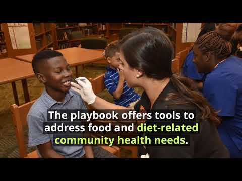 Delivering community benefit: Healthy food playbook