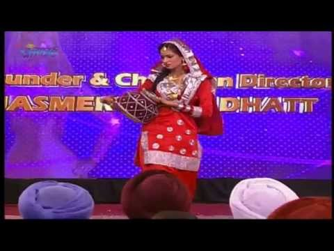 Miss World Punjaban 2015 dance Miss AMRITSAR Manpreet Episode 52