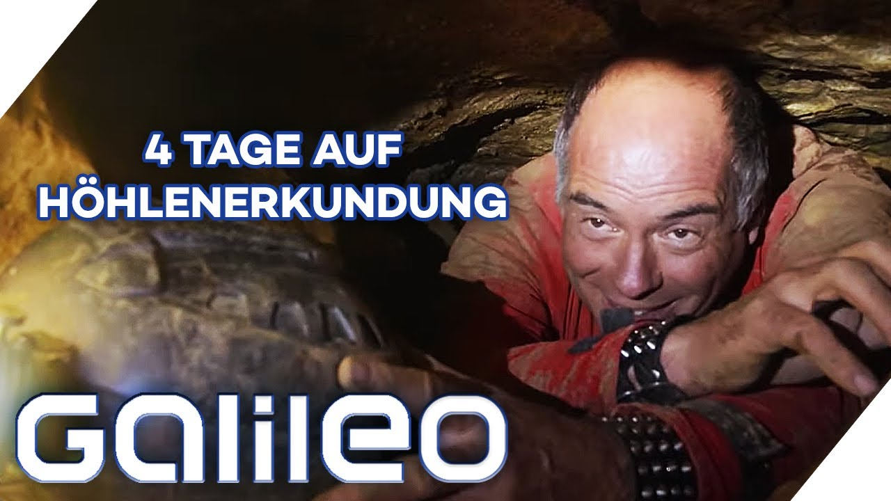 Hidden Place: In dieser Höhle waren weniger Menschen als auf dem Mond!   Galileo   ProSieben