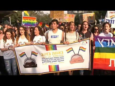Thousands take part in Jerusalem gay pride parade