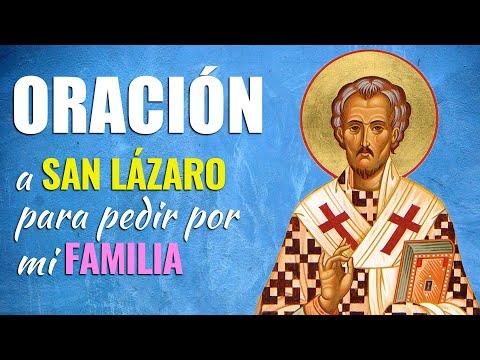 🙏 Oración Urgente a San Lázaro para pedir por LA FAMILIA 👨👩👧👦 Poderosas Palabras