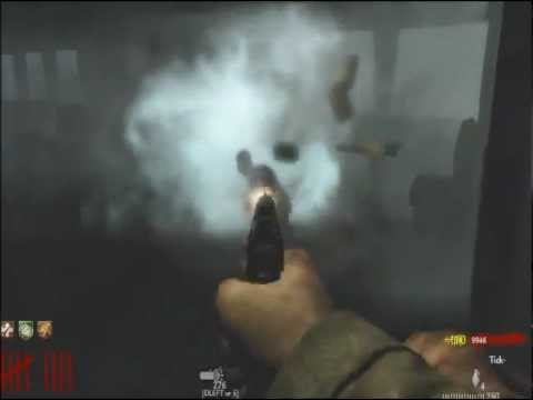 Tranzit Diner In WaW With Buyable Ending!!! (WaW Gameplay/Commentary)