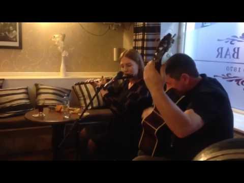 Órlaith McAuliffe and Shane McGowan