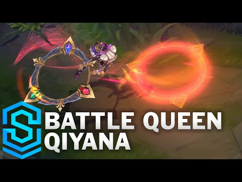 Battle Queen Qiyana Skin Spotlight - Pre-Release - League of Legends