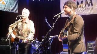 Billy Bragg and Joe Henry at 2016 NonComm
