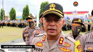 Polres Kebumen melaksanakan pengecekan ranmor dinas