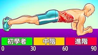 8種不用跑步節食也能消除腹部脂肪的運動