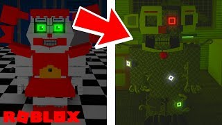 Finding The Secret HIDDEN Badges in Roblox FNAF Sister Location RP Remade