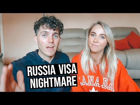 Our Russian Visa Nightmare   31 Hours Flying Australia to Russia
