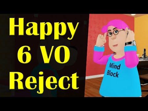 Happy 6 Vo Reject || Happy Sheru || Funny Cartoon Animation || MH One