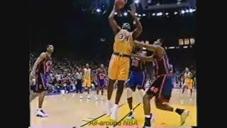 NBA Duels: Patrick Ewing Vs. Shaquille O'Neal, 1999.