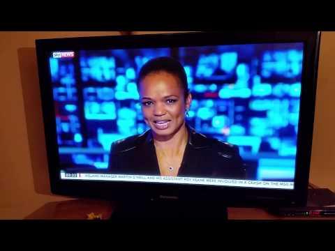 Sky news girl has melt down