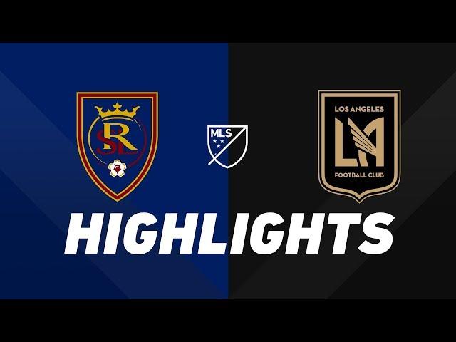 Real Salt Lake vs. LAFC   HIGHLIGHTS - August 17, 2019