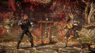 Mortal Kombat 11 New Patch 1.04! Johnny Cage vs Scorpion - Hard Difficulty MK 11 PS4 PRO - HD