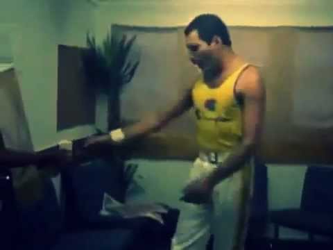 Freddie Mercury -Vocal Improvisation (rehearsal before the concert at Knebworth Park 1986) rare