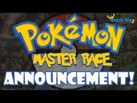 The Pokémon Master Race for Extra Life Game Day 2016 ANNOUNCEMENT!
