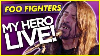 Foo Fighters - MY HERO: LIVE Performance Absolute Radio