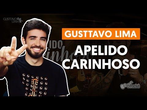 APELIDO CARINHOSO - Gusttavo Lima  de violão simplificada