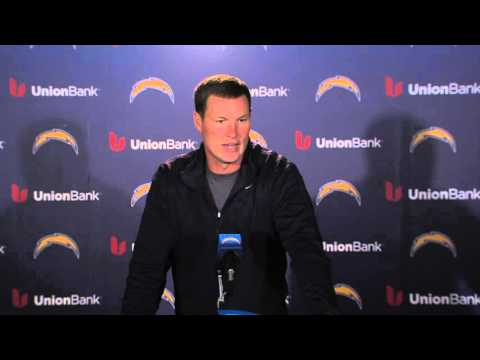 Philip Rivers Welcomes Back Antonio Gates - San Diego Chargers