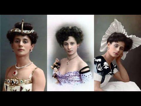 Как выглядят красавицы царской России на цветных фотографиях