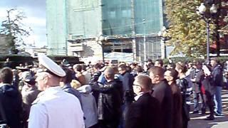 Митинг на Пушкинской площади. Военных опять обманули!