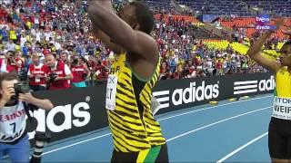 Final 200m masculino Atletismo Cto del Mundo Moscú 2013