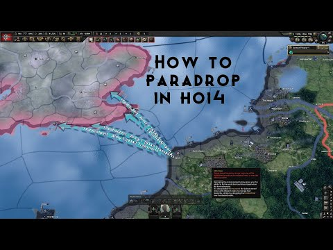 How to paradrop in Hearts Of Iron 4 (tutorial) |