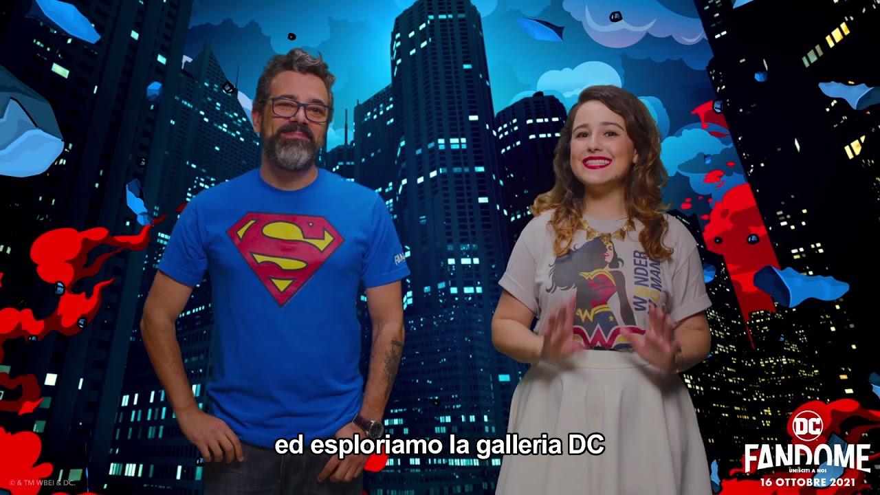 #DCFanDome   L'annuncio di Érico Borgo e Aline Diniz