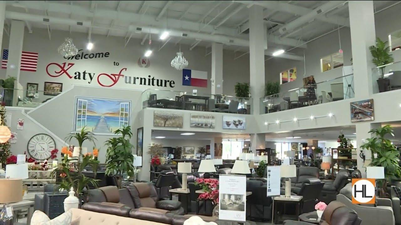Katy Furniture Has A Brand New Showroom Houston Life Kprc Youtube