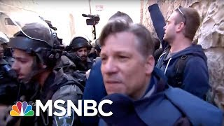 This Is Being In The Thick Of It.   Richard Engel   MSNBC