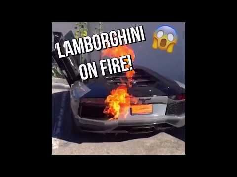 Supercars drivers Fails lamborghini on fire Ferrari crash compilation