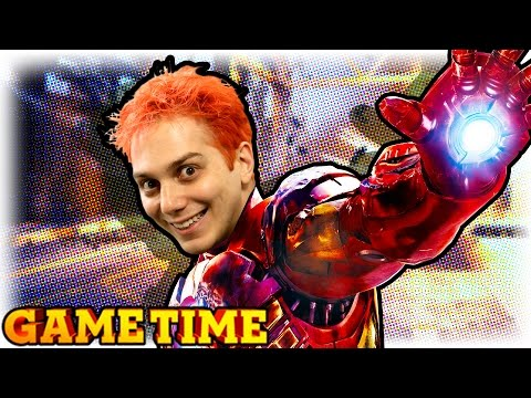 IRON MAN IN GTA 5 (Gametime w/ Smosh Games)