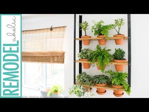 IKEA Hyllis Hack: DIY Indoor herb Garden