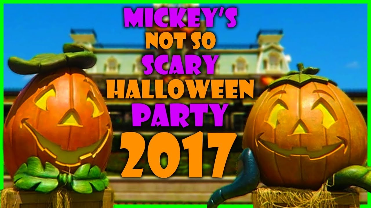 Mickey S Not So Scary Halloween Party Food