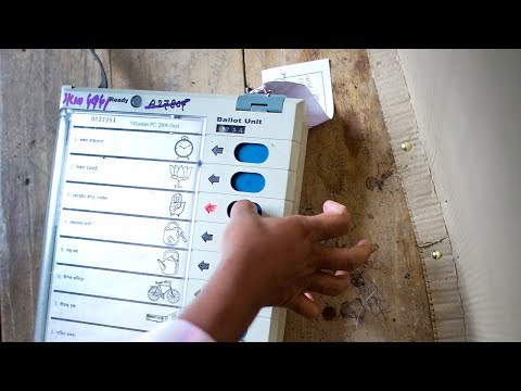 Lok Sabha Elections 2019 | How To Vote #India on EVM And Verify on VVPAT