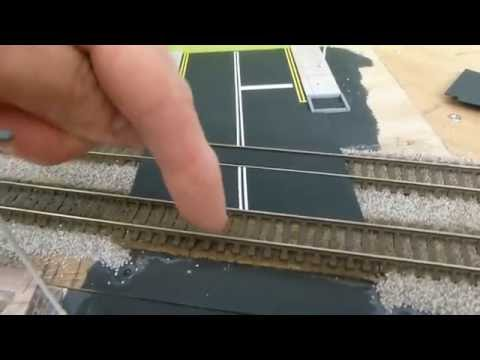 Dean Park Station Video 81 - How to build a Level Crossing