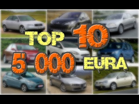 Najbolji auto do 5 000 €