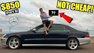 $850 Mercedes S600 V12 Costly Engine Misfire FIXED! (Part 6)