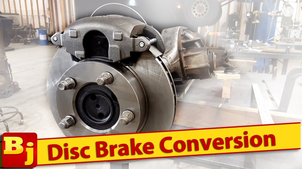 Ford 9 Inch  Disc Brake Conversion  RuffStuff Specialties  YouTube